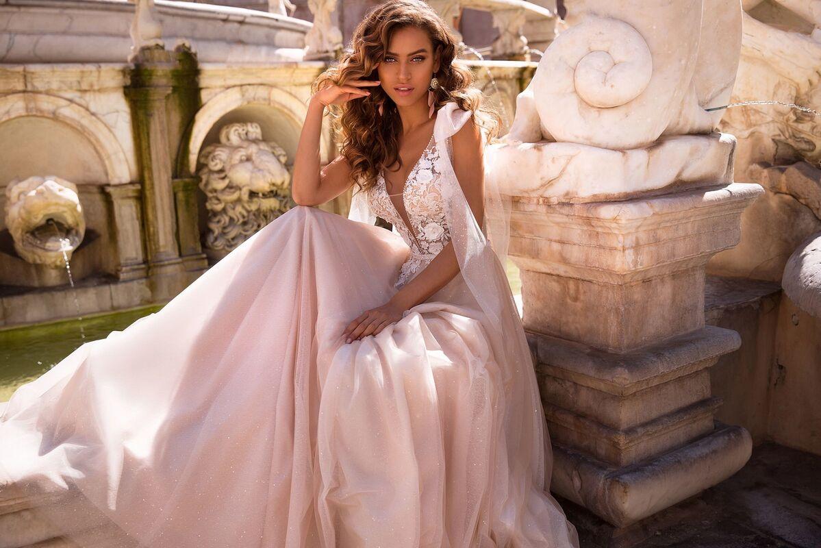 Свадебный салон Lussano Bridal Свадебное платье  Brooke 19050 - фото 4