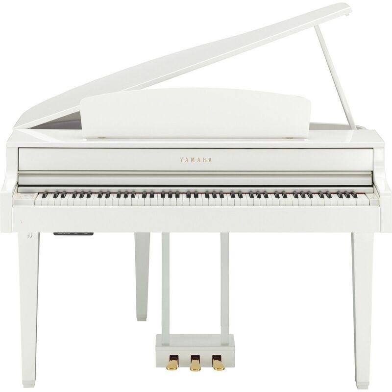 Музыкальный инструмент Yamaha Цифровой рояль CLP-565 GP WH - фото 1