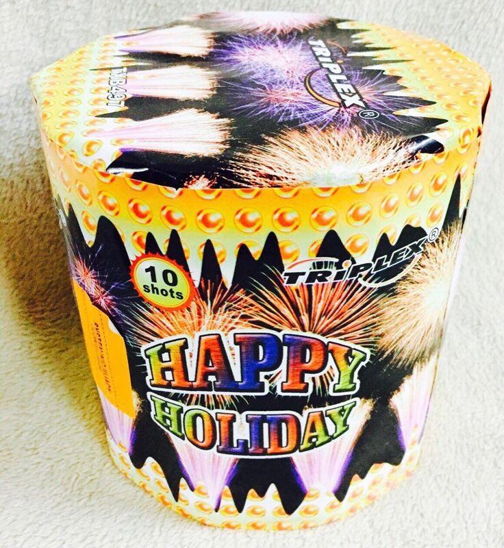 Фейерверк Triplex Батарея салютов Happy Holiday TXB497 - фото 1