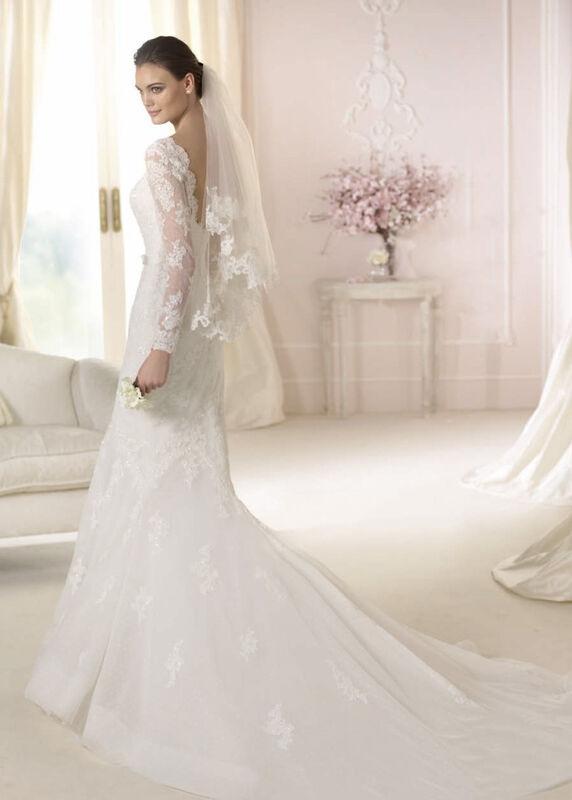 Свадебное платье напрокат White One (Pronovias) Платье свадебное «Damasia» - фото 2