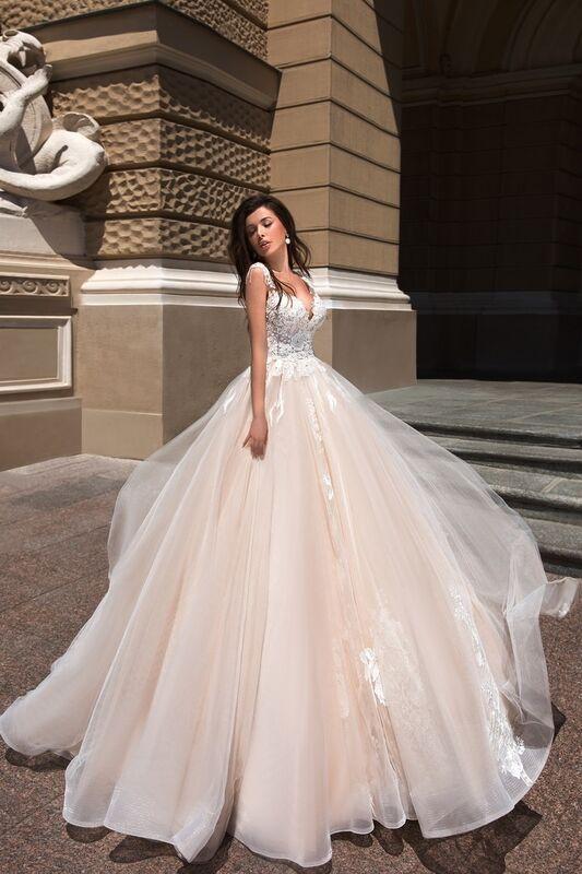 Свадебный салон Ida Torez Свадебное платье Cupraea Tigris - фото 1