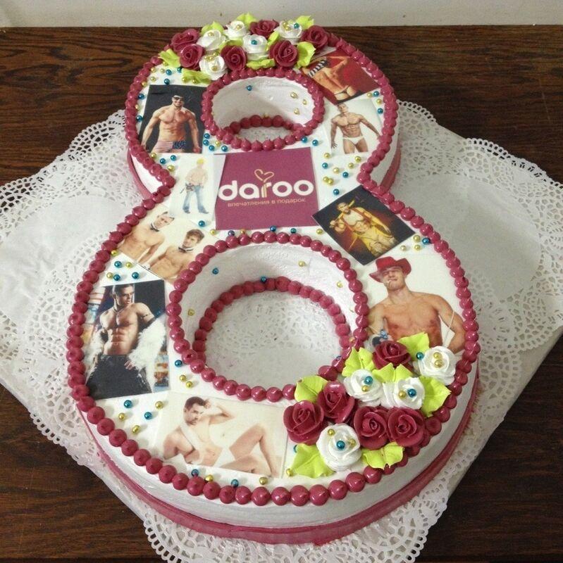 Торт МЕГАТОРТ Торт «Дорогие женщины» - фото 1