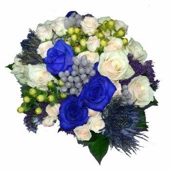 Магазин цветов Ветка сакуры Свадебный букет № 33 - фото 1