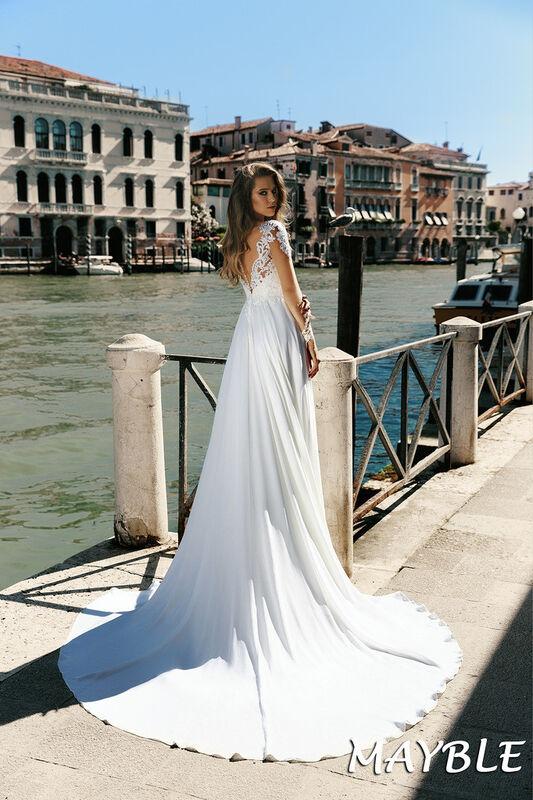 Свадебный салон Bonjour Galerie Свадебное платье Mayble из коллекции La Douceur - фото 2