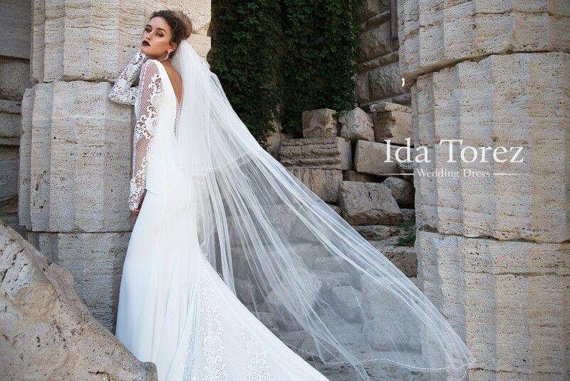 Свадебное платье напрокат Ida Torez Платье свадебное Rosie - фото 4