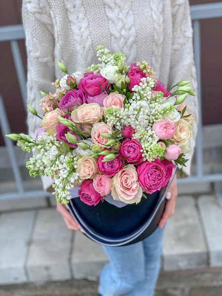 Магазин цветов Cvetok.by Коробочка «Запах весны» - фото 1