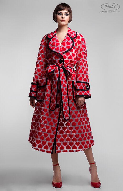 Верхняя одежда женская Pintel™ Плащ из органзы свободного силуэта Ranisha - фото 2