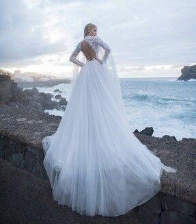 Свадебное платье напрокат Blammo-Biamo Свадебное платье Dream Ocean Rona - фото 4