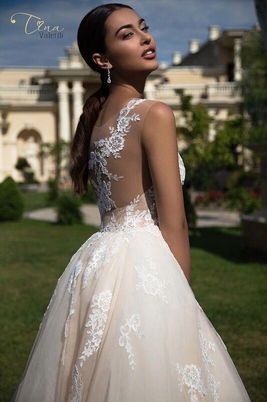 Свадебное платье напрокат Armonia Свадебное платье Constancia - фото 4