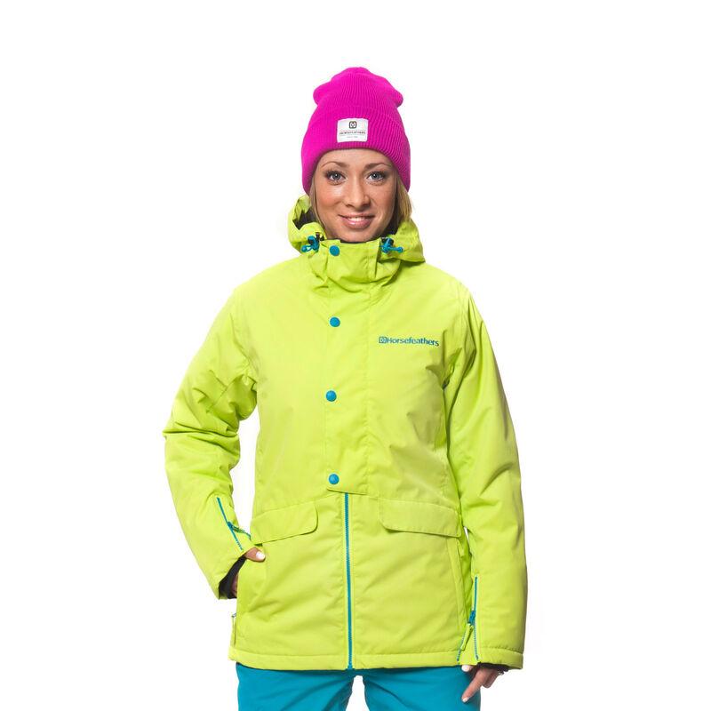 Спортивная одежда Horsefeathers Сноубордическая куртка Corine 1415 лайм - фото 1