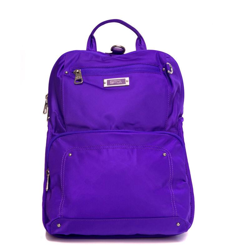 Купить Женская сумка-рюкзак фиолетовя 91891 Epol в Минске – цены ... 0f2eb352f28