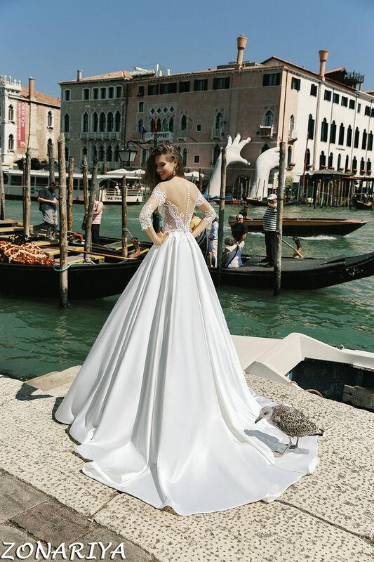 Свадебный салон Bonjour Свадебное платье Zonariya из коллекции La Douceur - фото 2