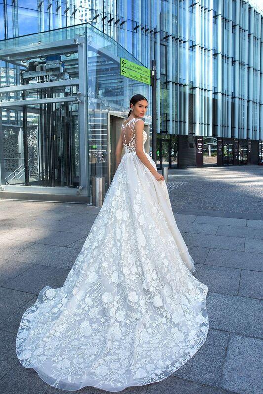 Свадебное платье напрокат Crystal Модель Laima - фото 3