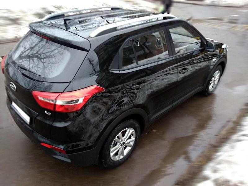 Прокат авто Hyundai Creta (2018 г.в, чёрный) - фото 3