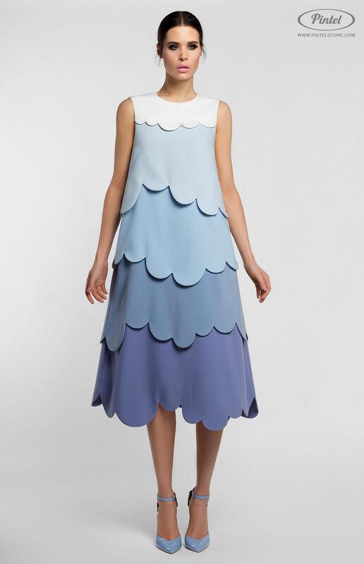 Платье женское Pintel™ Миди-платье А-силуэта Juvinianka - фото 1