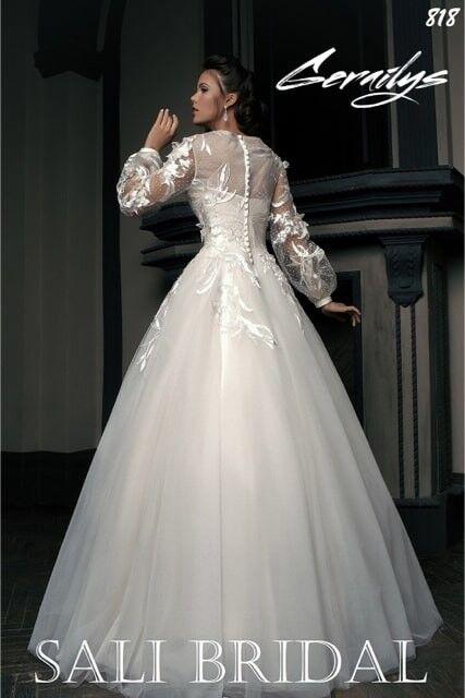 Свадебный салон Sali Bridal Свадебное платье 818 - фото 2
