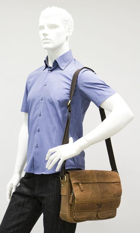 Магазин сумок Poshete Сумка мужская 196-1245 - фото 3