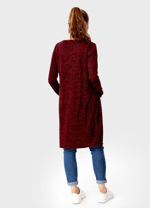 Кофта, блузка, футболка женская O'stin Кардиган без застёжки LT7T31-18 - фото 2