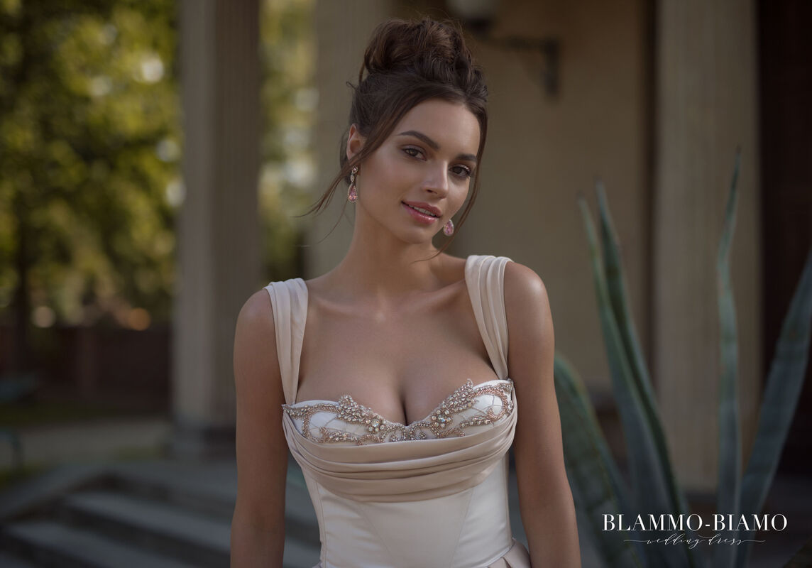 Свадебный салон Blammo-Biamo Свадебное платье The Rice  Lolis - фото 5