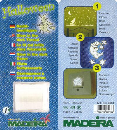 Товар для рукоделия Madeira Нитки для вышивания с эффектом свечения 9661 - фото 2