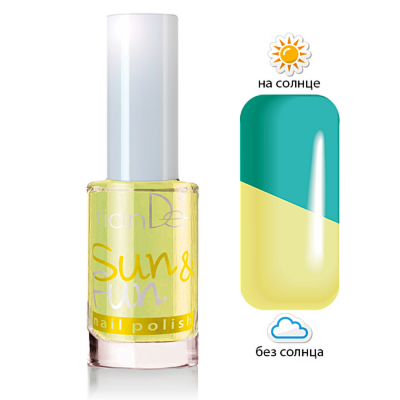 Декоративная косметика tianDe Лак для ногтей Sun & Fun - фото 5