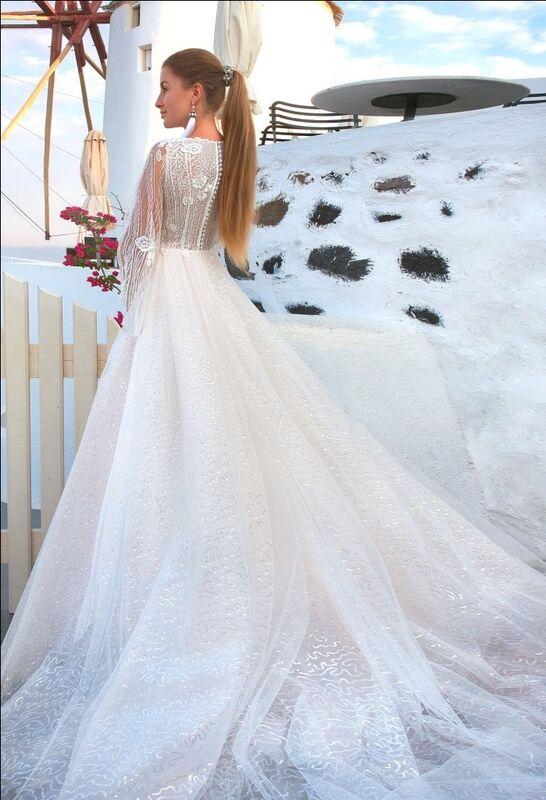 Свадебное платье напрокат Rafineza Свадебное платье Ameli напрокат - фото 2