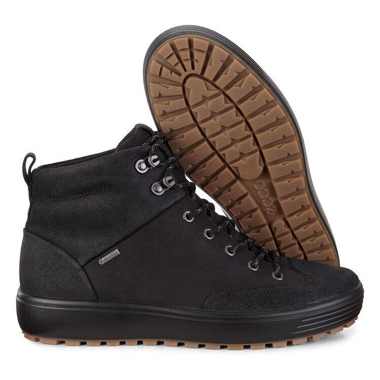Обувь мужская ECCO Кеды высокие SOFT 7 TRED 450114/51052 - фото 8