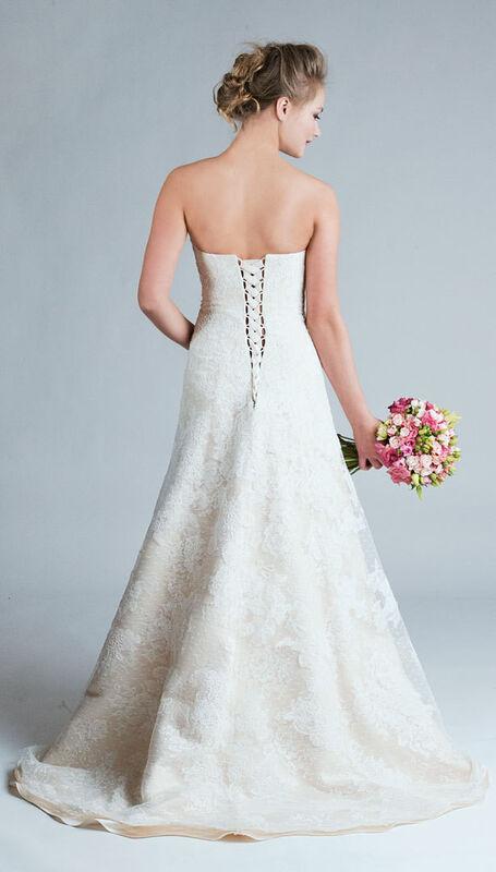 Свадебное платье напрокат Belfaso Свадебное платье - фото 2