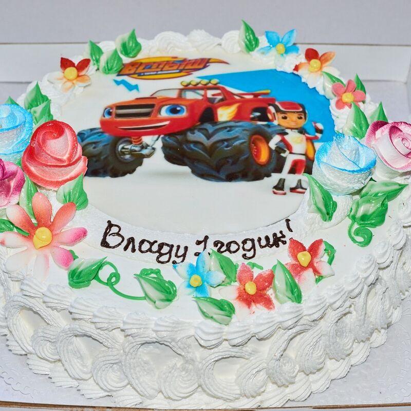 Торт Tortiki.by Праздничный торт №10 - фото 1