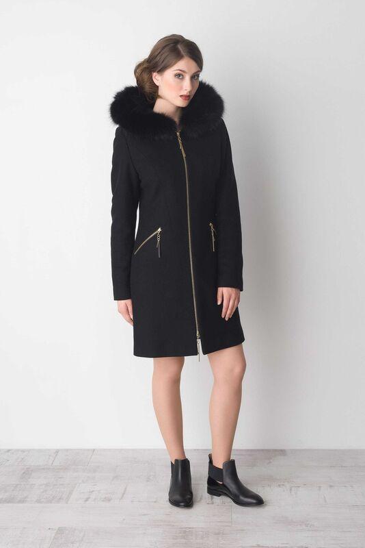 Верхняя одежда женская Elema Пальто женское зимнее Т-6551 - фото 1