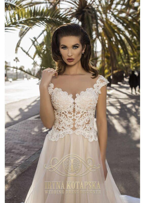 Свадебное платье напрокат Lavender Свадебное платье Gloriya - фото 3