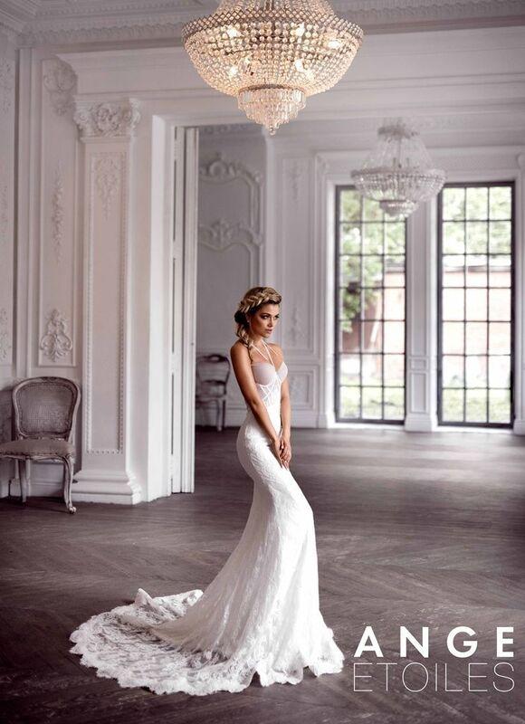 Свадебное платье напрокат Ange Etoiles Платье свадебное Charm 2017 Margot - фото 1