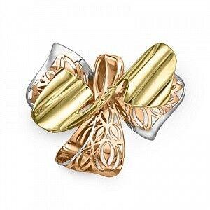 Ювелирный салон Платина Брошь золотая 04-0153-00-000-1113-48 - фото 1