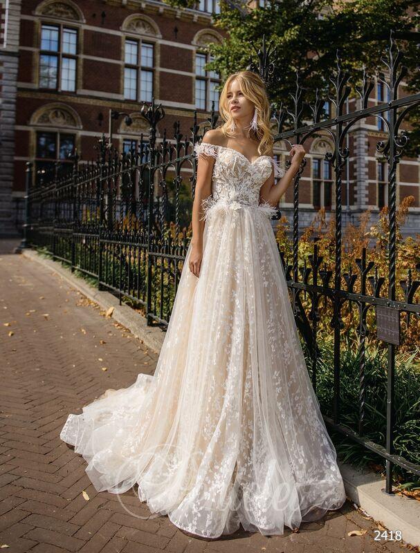 Свадебное платье напрокат Lavender Свадебное платье Chloe - фото 1