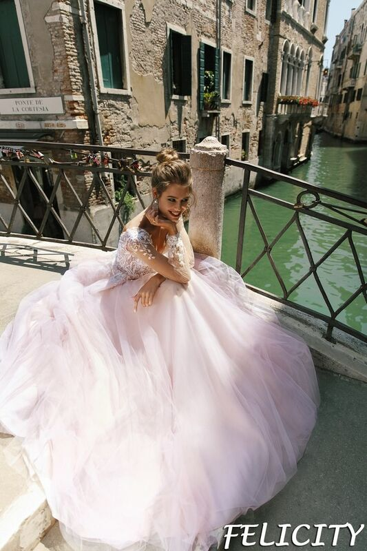 Свадебный салон Bonjour Galerie Свадебное платье Felicity из коллекции La Douceur - фото 6