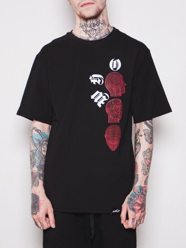 Кофта, рубашка, футболка мужская SoWhat Футболка «Black Soul» SKU0091000 - фото 3