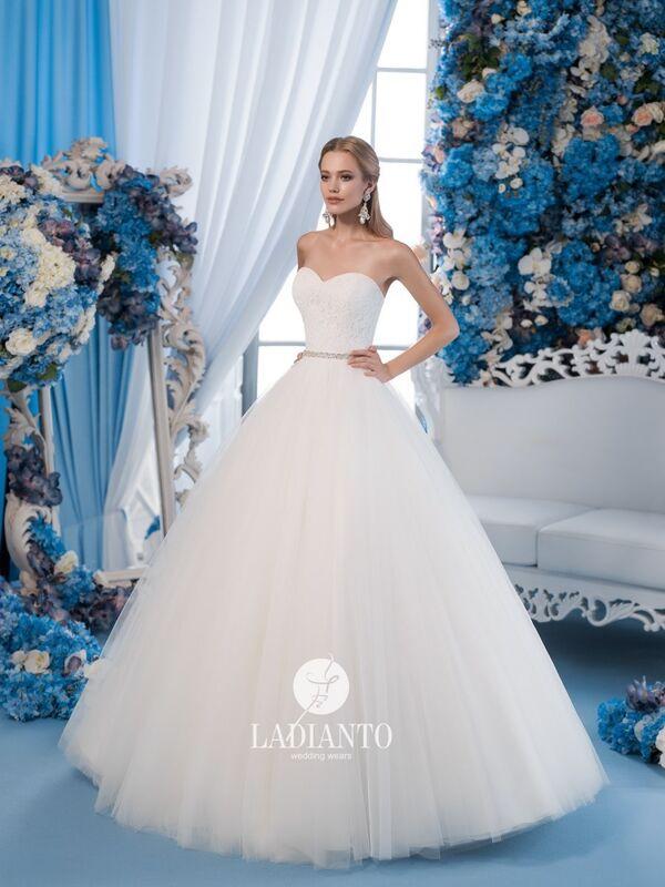 Свадебное платье напрокат Ladianto Платье свадебное D-7029 Leonzia - фото 1