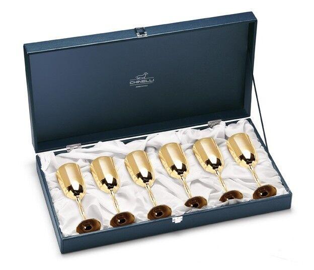Подарок Gamma Набор бокалов для шампанского 6977 - фото 1