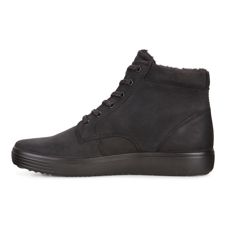 Обувь мужская ECCO Кеды высокие SOFT 7 430394/02001 - фото 2