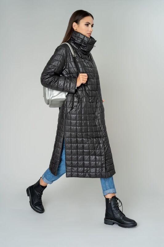 Верхняя одежда женская Elema Пальто женское плащевое утепленное 5-9900-1 - фото 1