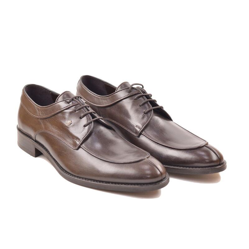 Обувь мужская HISTORIA Туфли дерби коричневые Sh.Br.72871 - фото 1