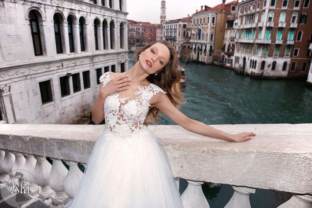 Свадебное платье напрокат Bonjour Платье свадебное «Isla» из коллекции LE DELICE 2018 - фото 2