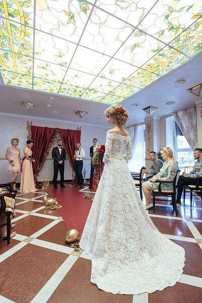 Свадебное платье напрокат ALIZA Свадебное платье «Ambre» Diva Vivien - фото 2