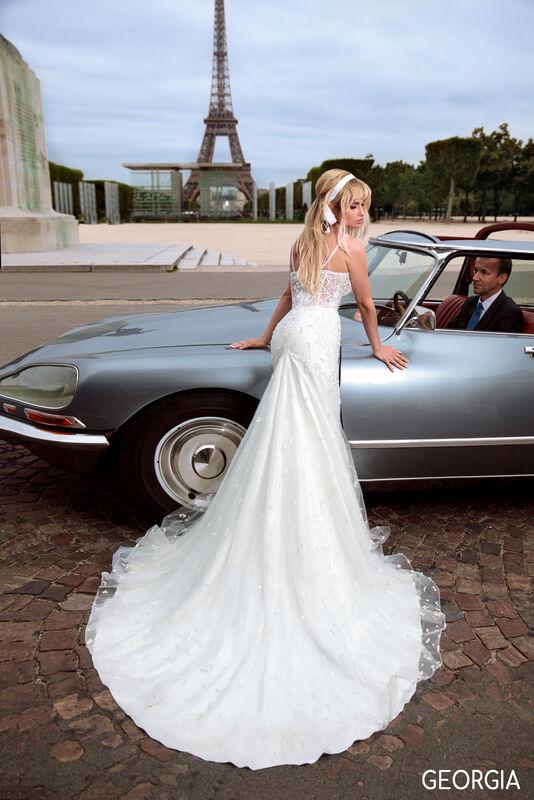 Свадебный салон Bonjour Galerie Платье свадебное GEORGIA из коллекции BON VOYAGE - фото 3