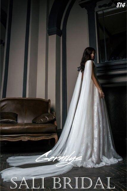 Свадебный салон Sali Bridal Свадебное платье 814 - фото 2