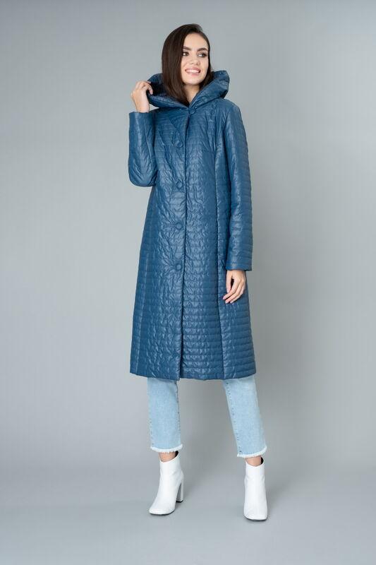 Верхняя одежда женская Elema Пальто женское плащевое утепленное 5-9453-1 - фото 1