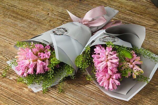 Магазин цветов Цветы на Киселева Букет-комплимент «Гиацинт» - фото 1