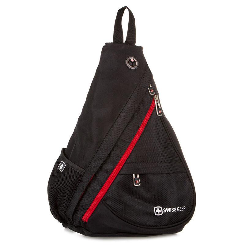 Магазин сумок SwissGear Рюкзак мужской черный 205-983110 - фото 1