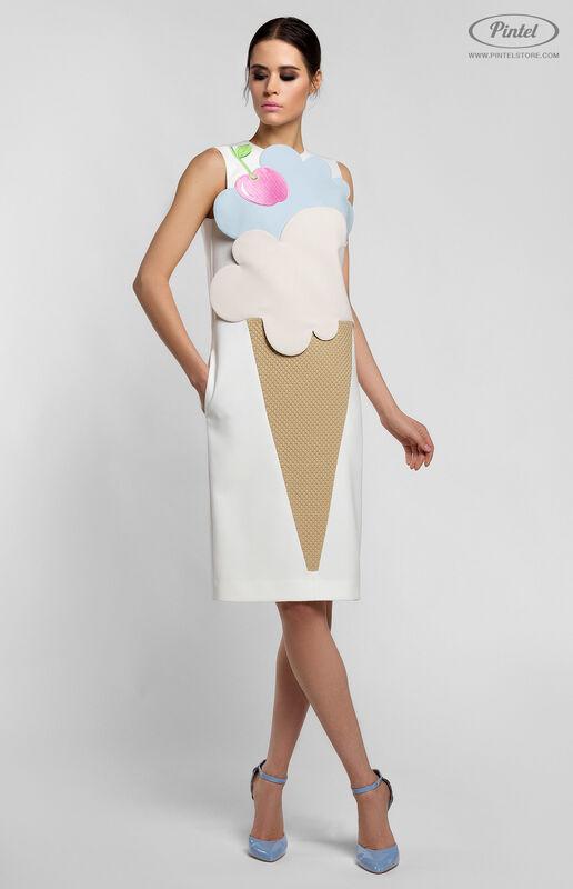 Платье женское Pintel™ Комбинированное платье Rikke - фото 1
