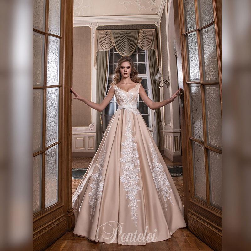 Свадебное платье напрокат Lavender Свадебное платье Afina - фото 1